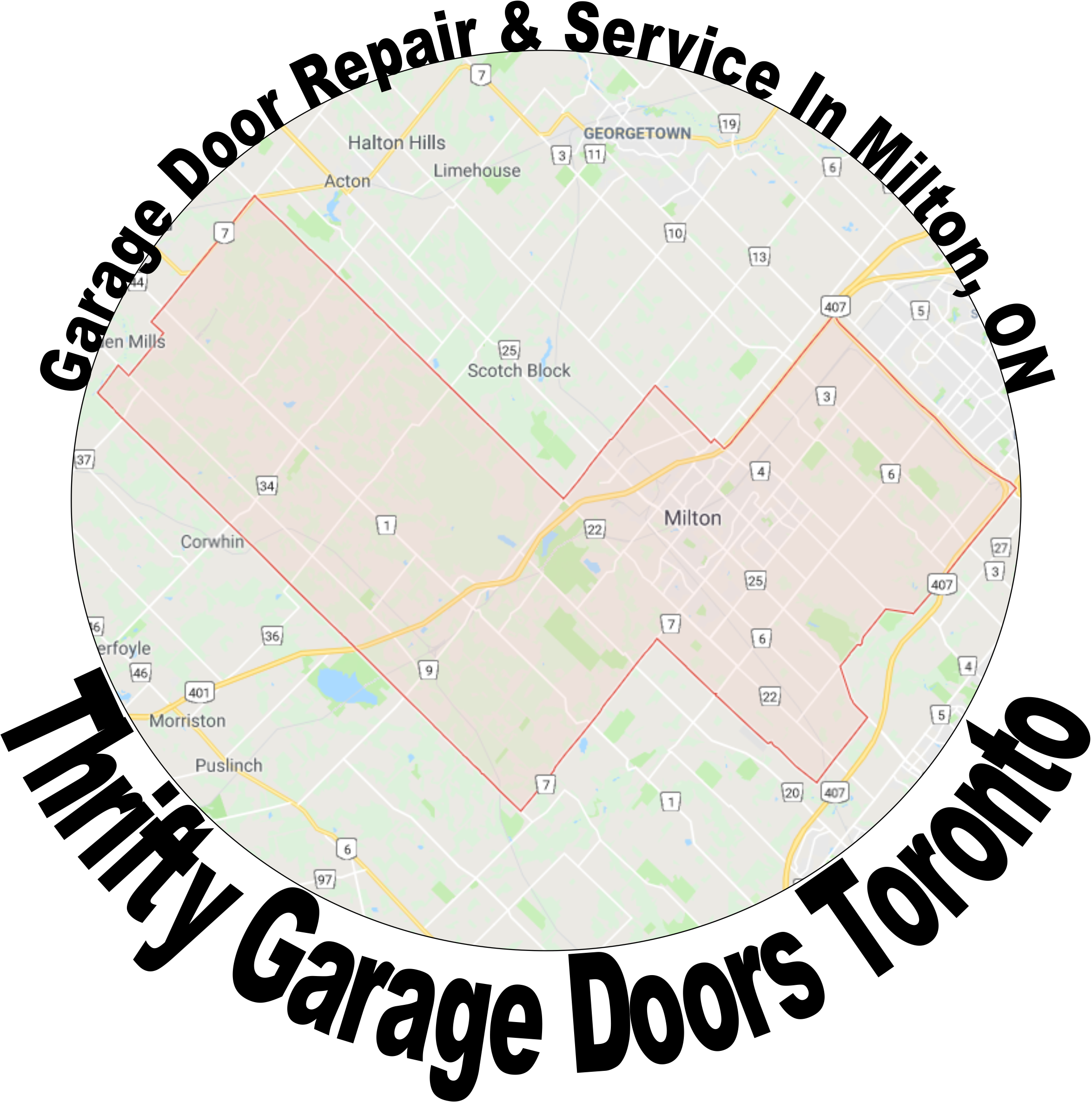 garage doors in milton
