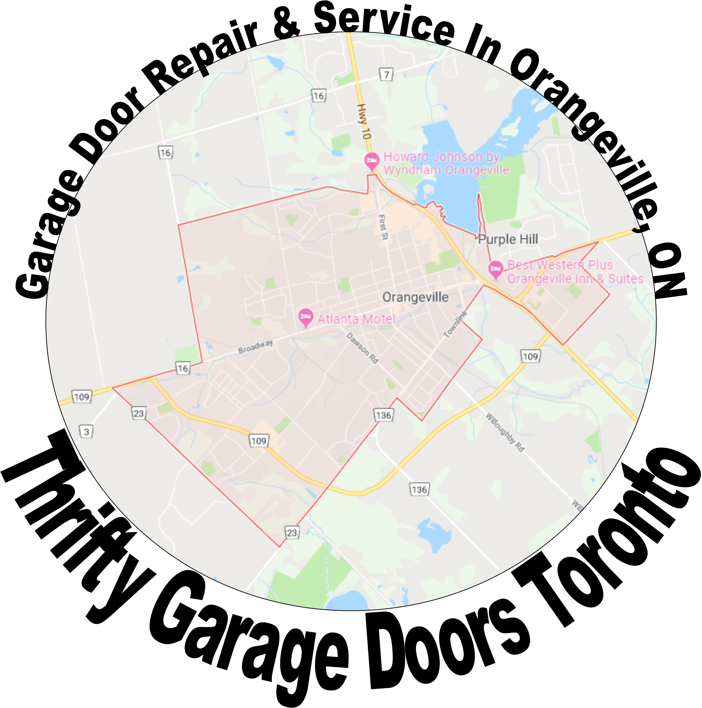 garage doors in orangeville